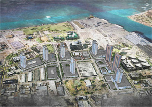 Rendering of future kakaako condos